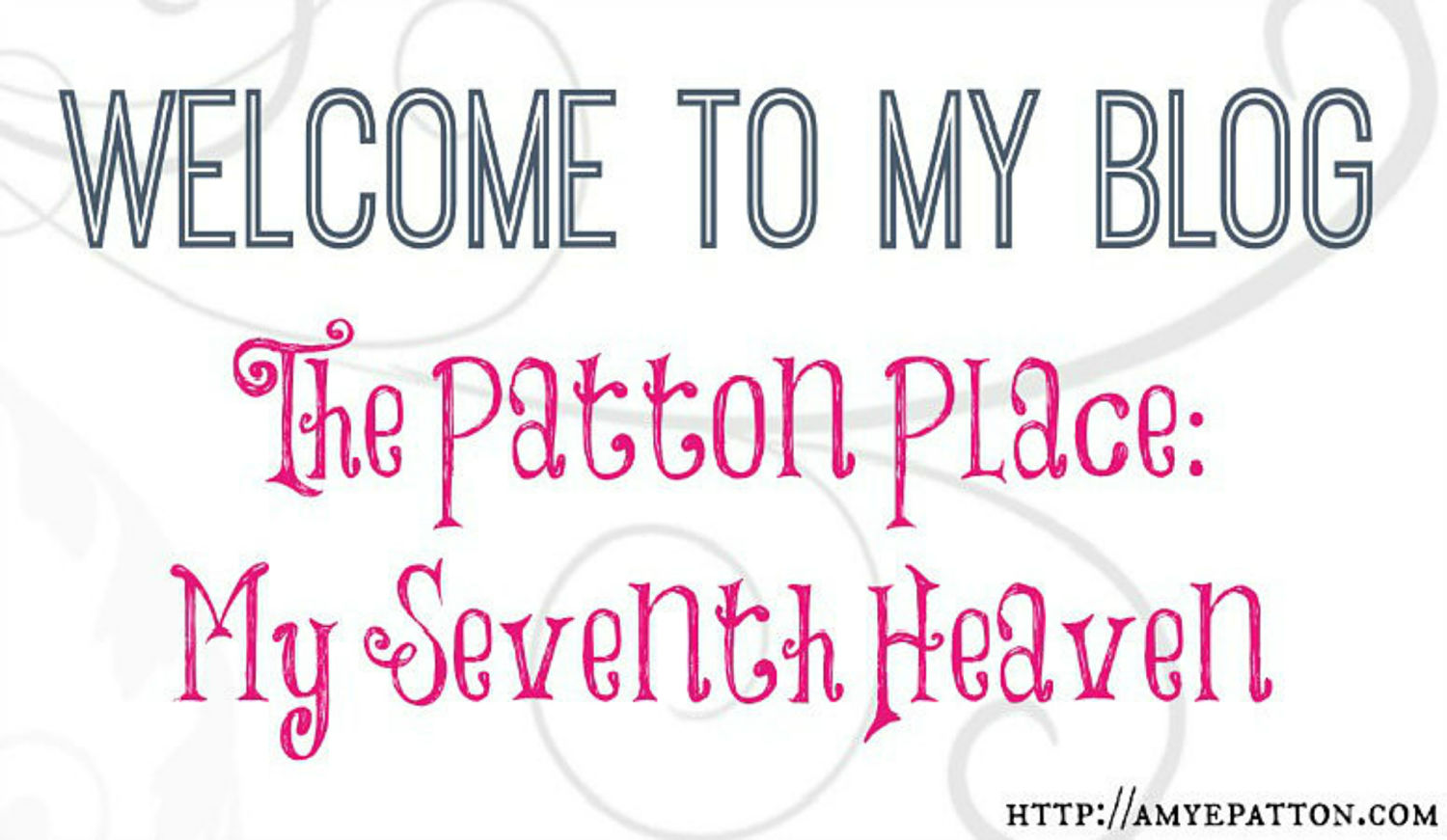 Welcome to The Patton Place blog