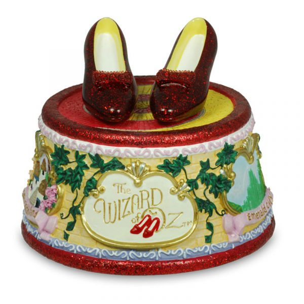 The Wizard of Oz music box Katie looked at was a beginning of me wondering when is a rainbow just a rainbow