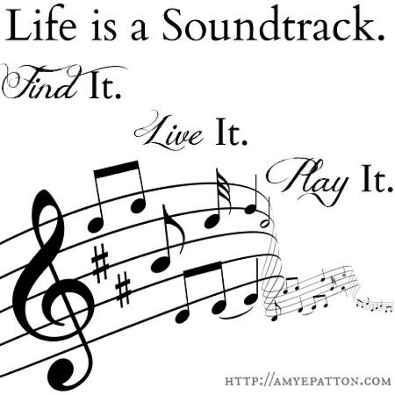 Life is a Soundtrack | Music for the Day