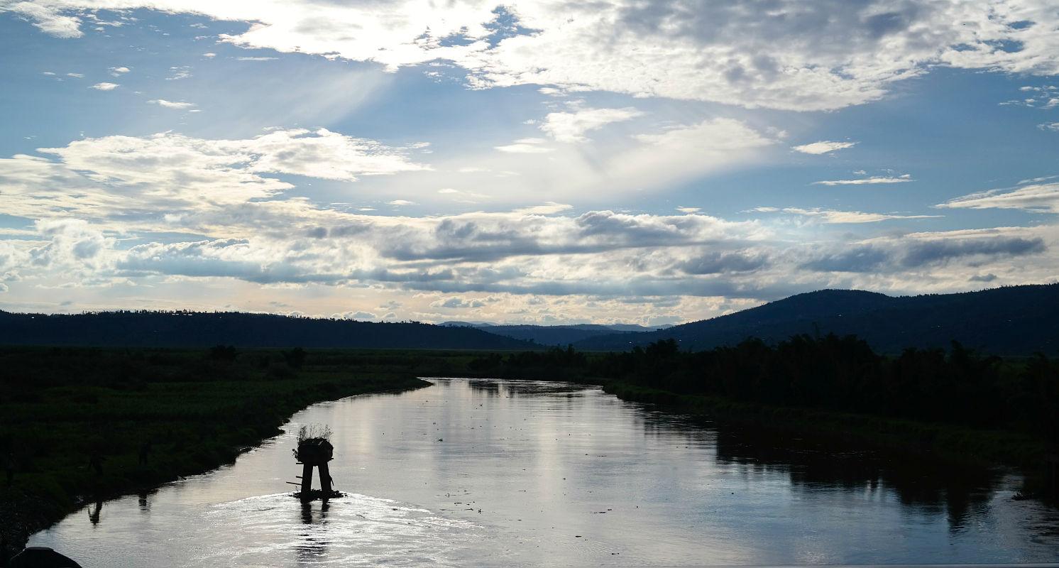 Nyaborongo River and The Land of a Thousand Hills Rwanda landscape