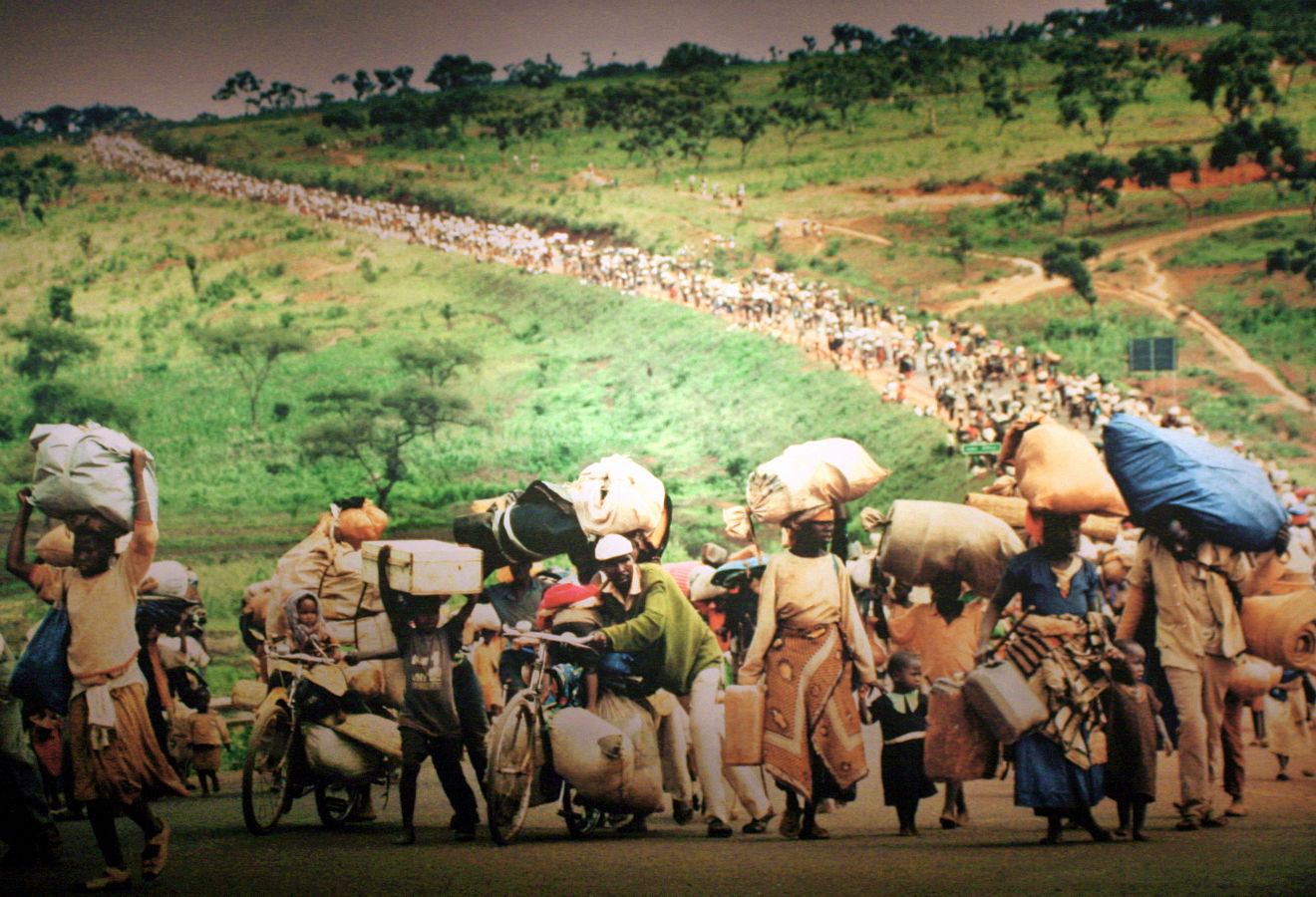 Rwanda refugee crisis after the Rwandan Genocide