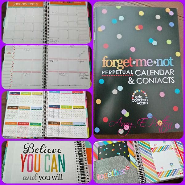 Erin Condren Life Planner organization