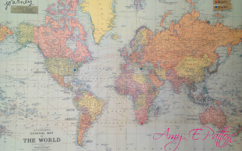 Where in the world are my children map
