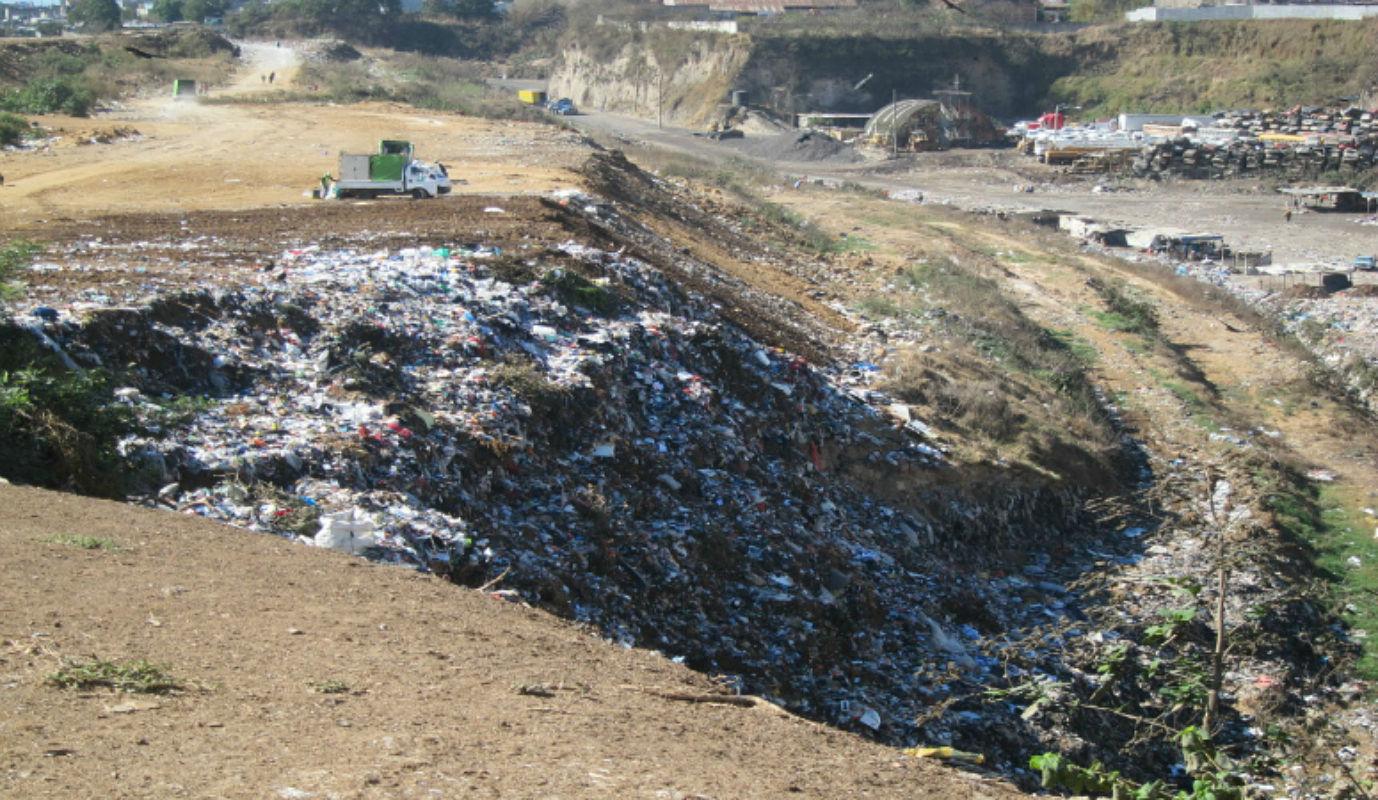dump pile in Honduras