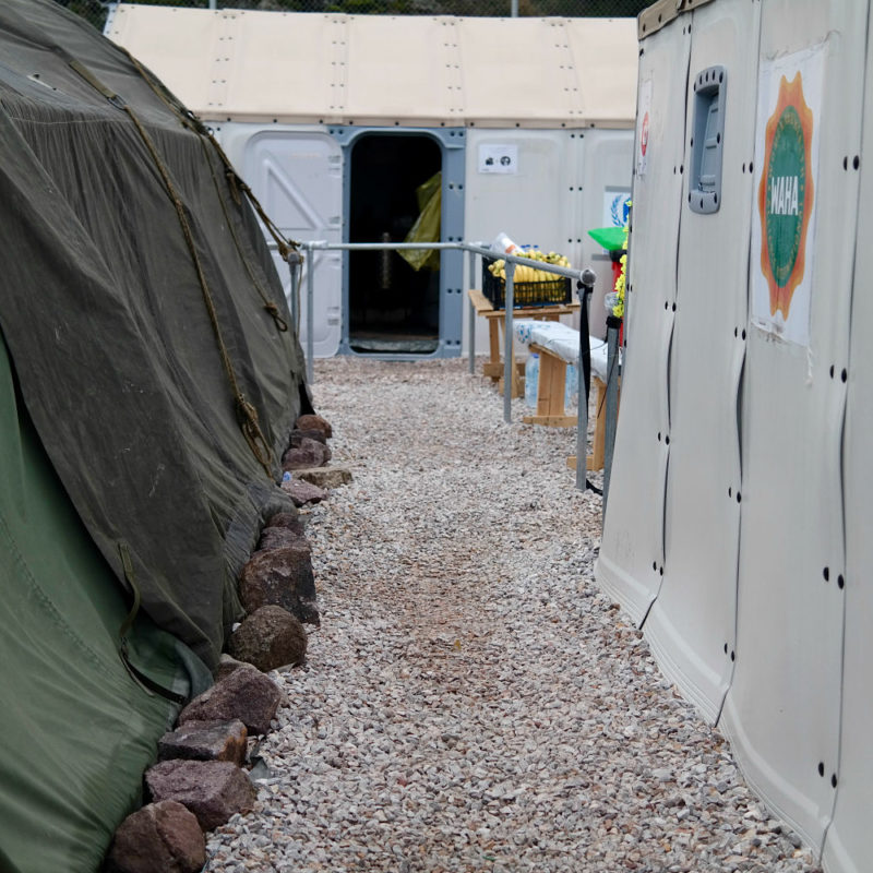 A Slow Day at Camp | Greece and the Refugee Crisis