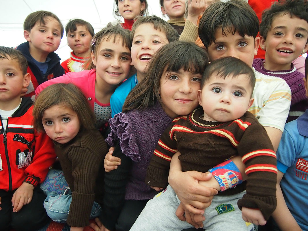 Facts about the refugee crisis: children represent over half the refugee population.