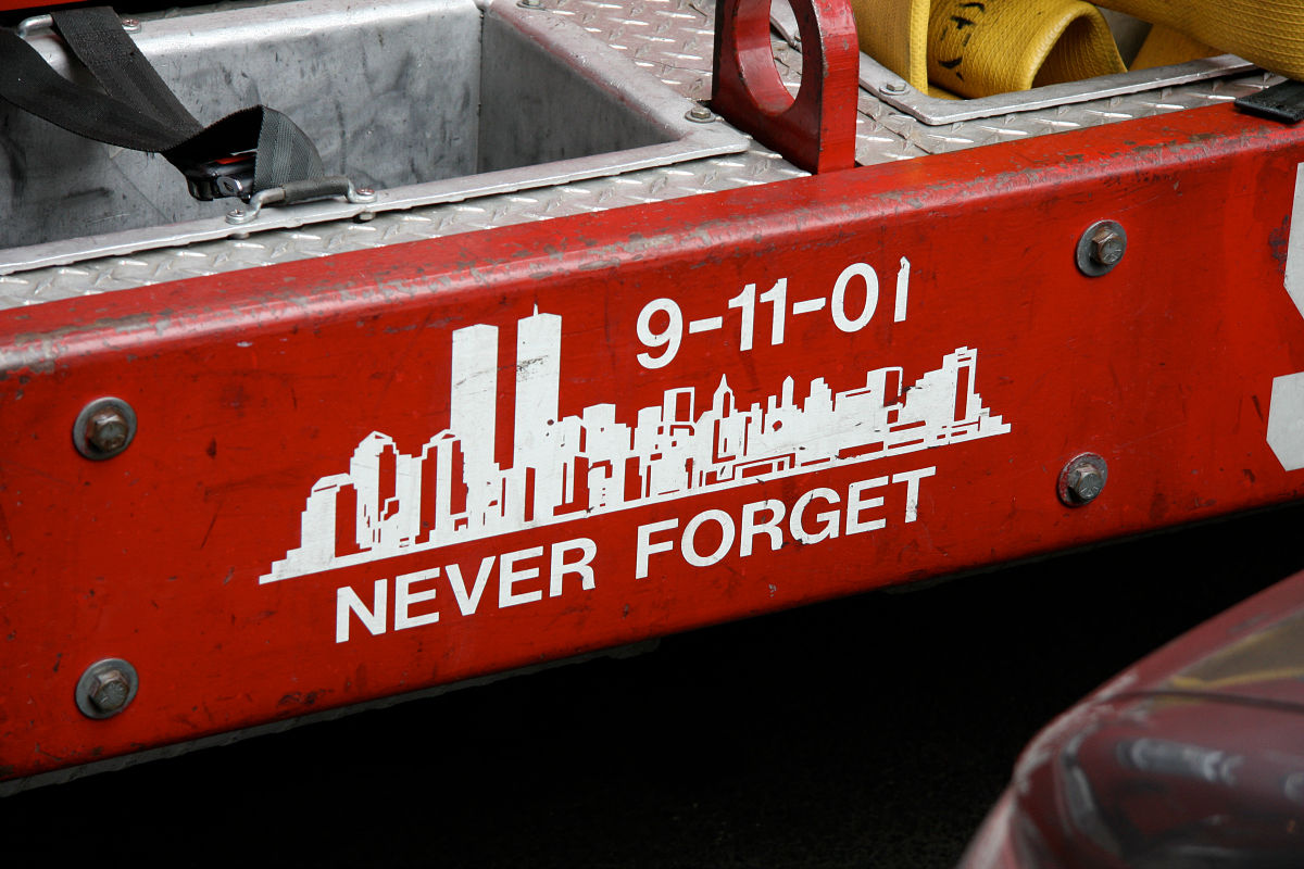Why we need to remember 9/11. We need to heal.